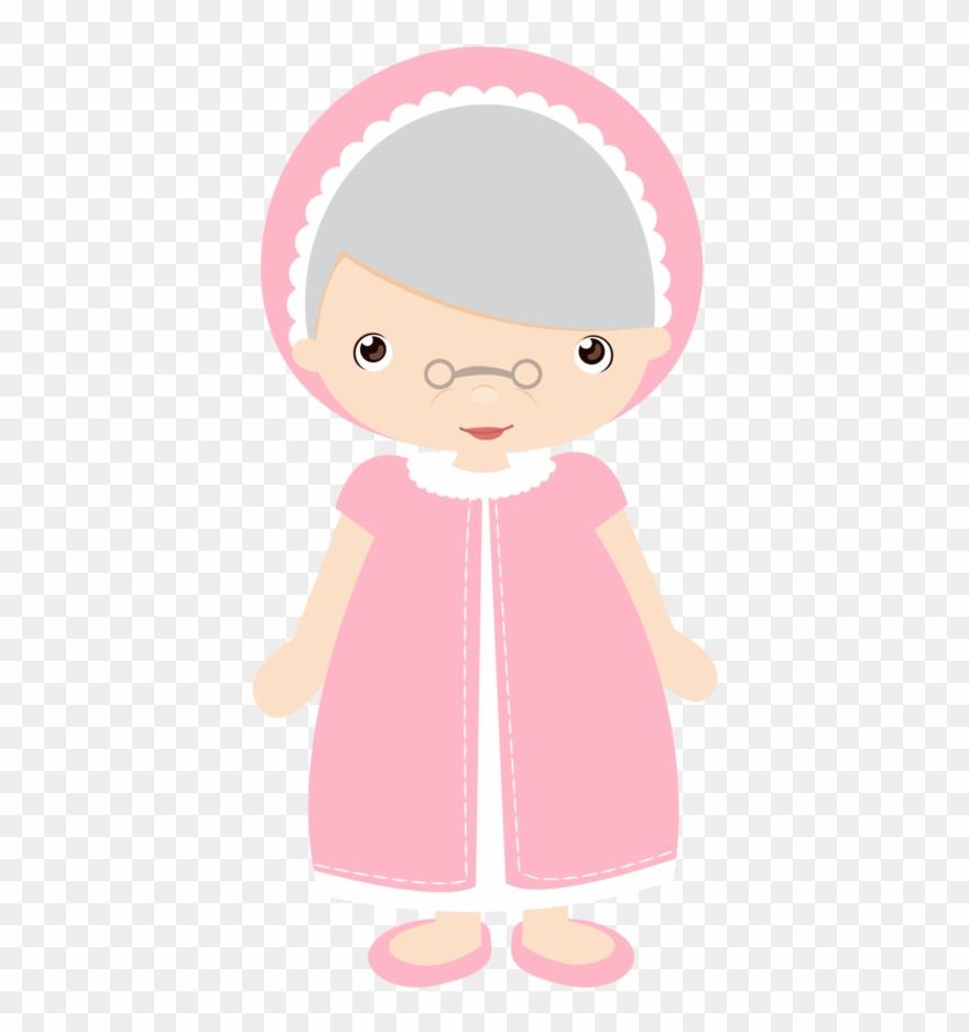 Chapeuzinho Vermelho Ii Little Red Riding Hood Grandma Clipart Png