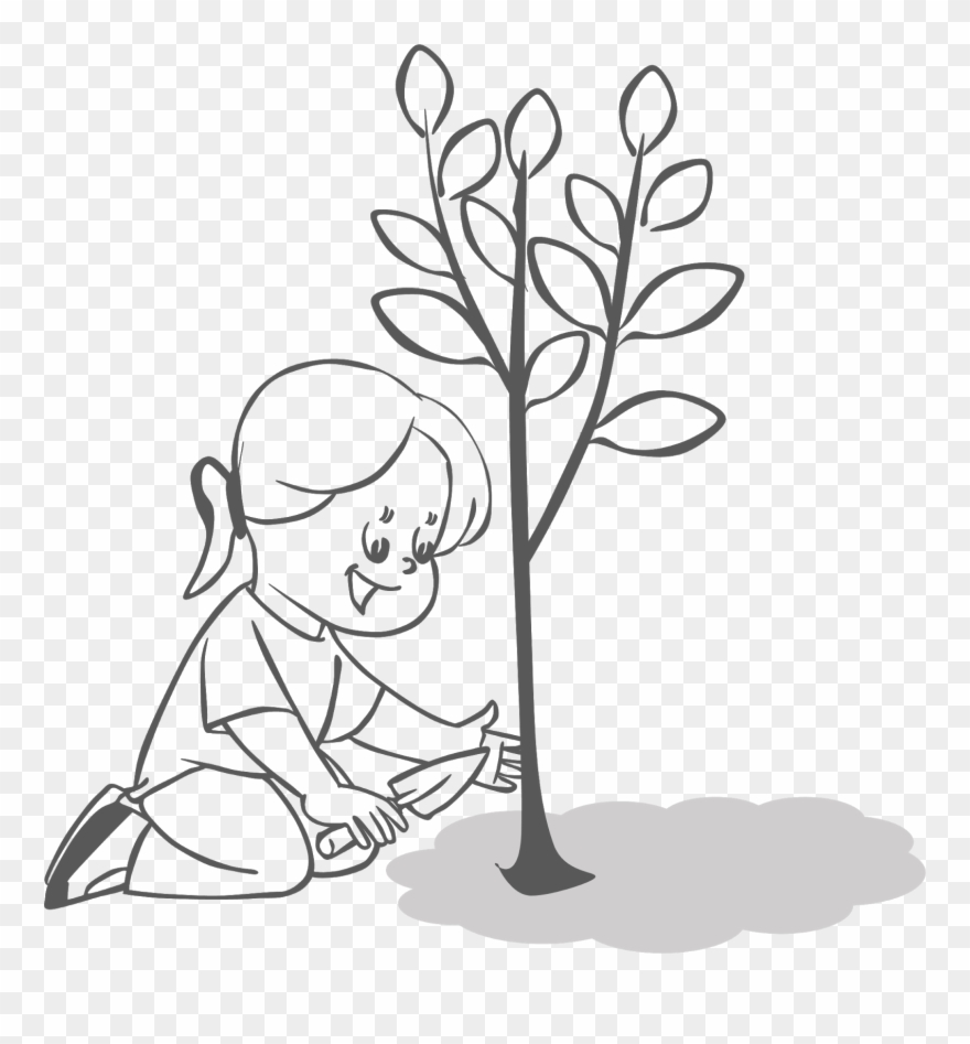 Clean And Green Nature Cliparts Free Clipart People Planting