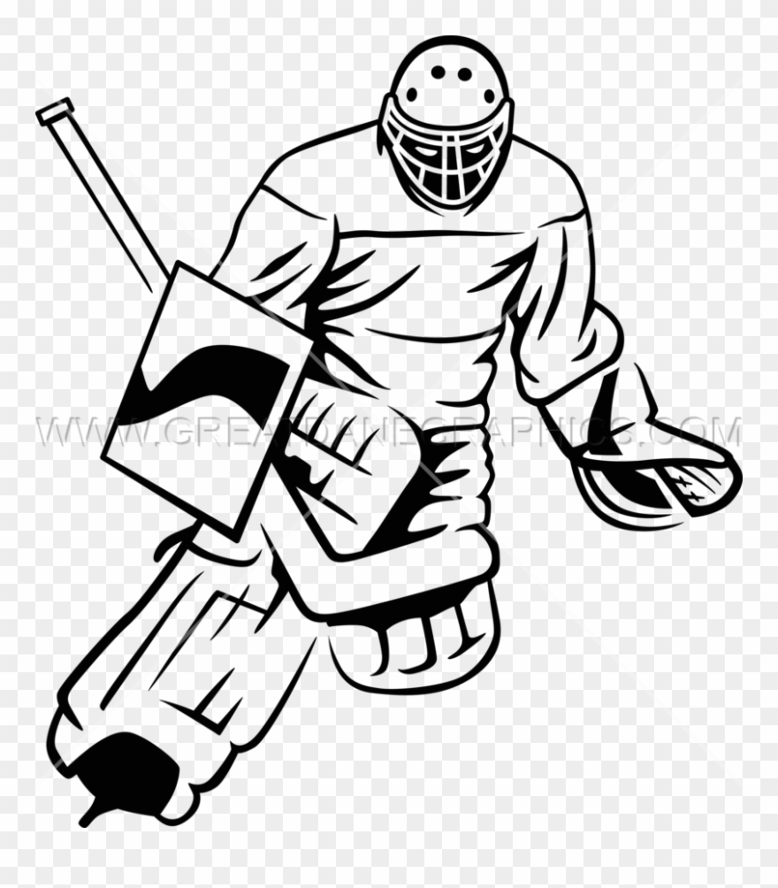 Hockey Goalie Catchu Ice Hockey Clipart 1156161 Pinclipart
