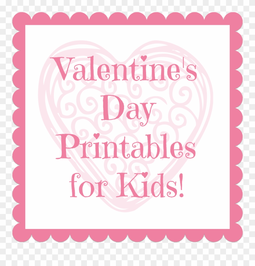 photo relating to Secret Santa Printable titled Valentines Working day Printables For Children - Printable Key Santa