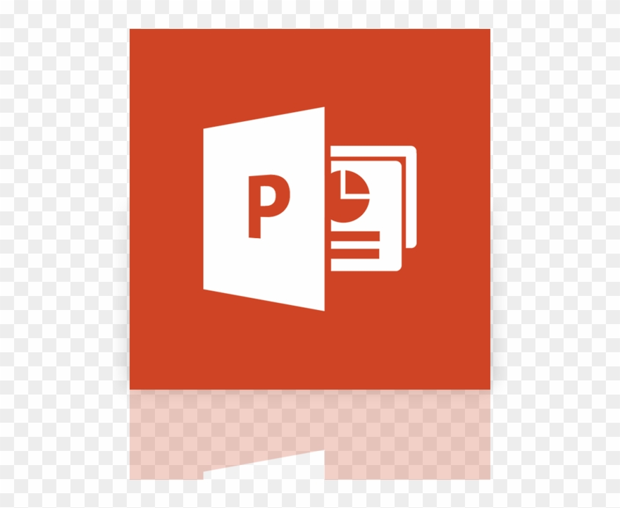 Microsoft powerpoint. Mirror icon