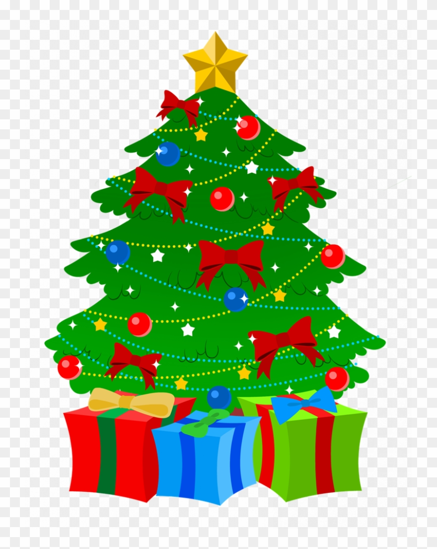 Christmass public domain. Free christmas tree clipart