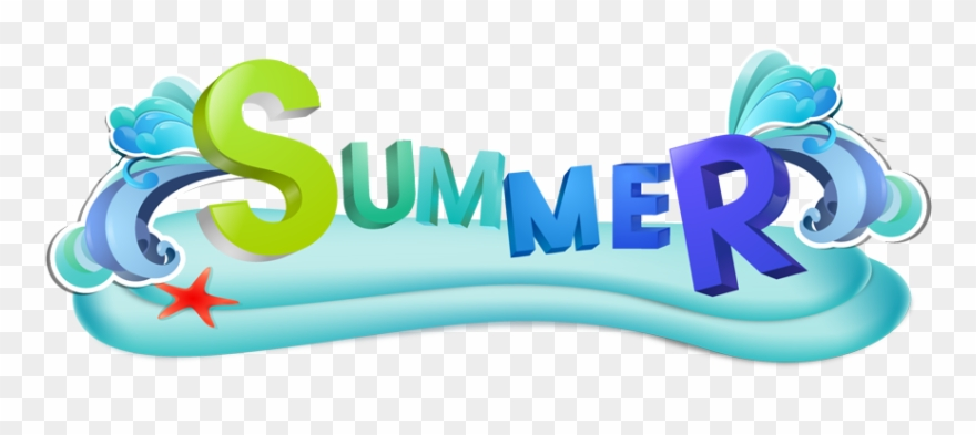 Summer banner. Edited party logo png