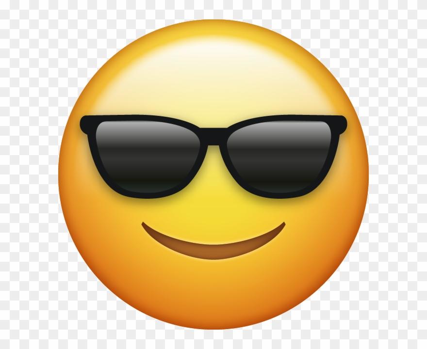 Download Download Sunglasses Cool Emoji Face [iphone Ios ...