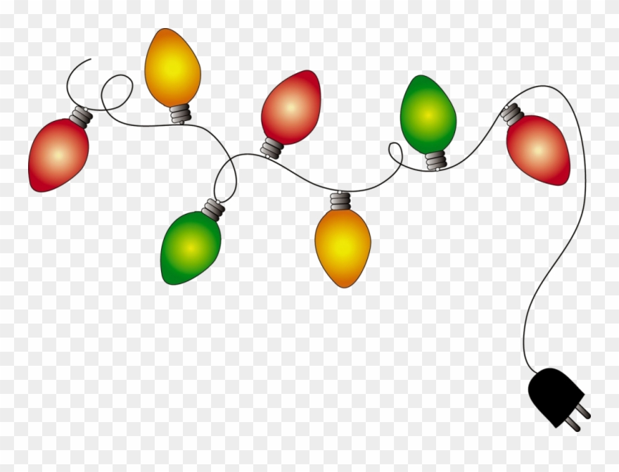 Christmas Lights Cartoon.Xmas Lights Png Pic1 Christmas Lights Clipart Animated