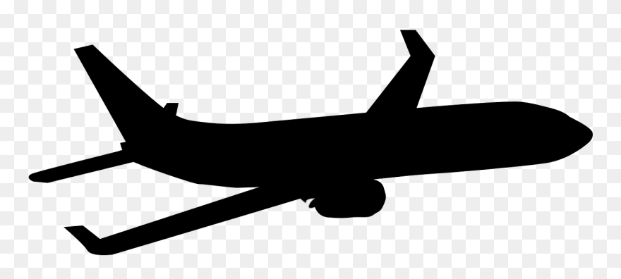 Airplane Silhouette Clip Art 1st Choice Aerospace Png Download