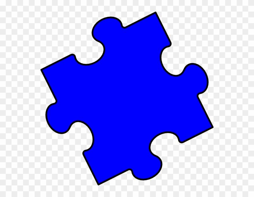 Blue Puzzle Piece Clipart Png Download 1182887 Pinclipart