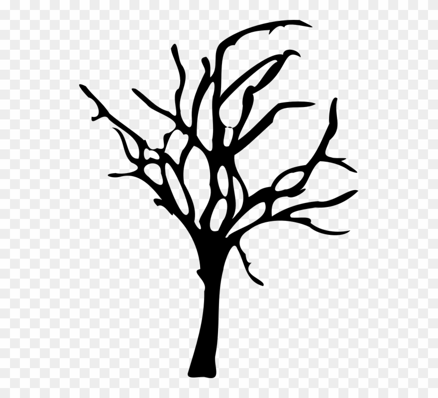 Barren Clipart Dead Forest