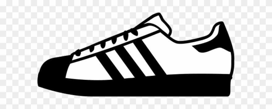 db1c2ff73ea7 Adidas Shoes Clipart Black And White - Adidas Shoes Clipart Transparent -  Png Download