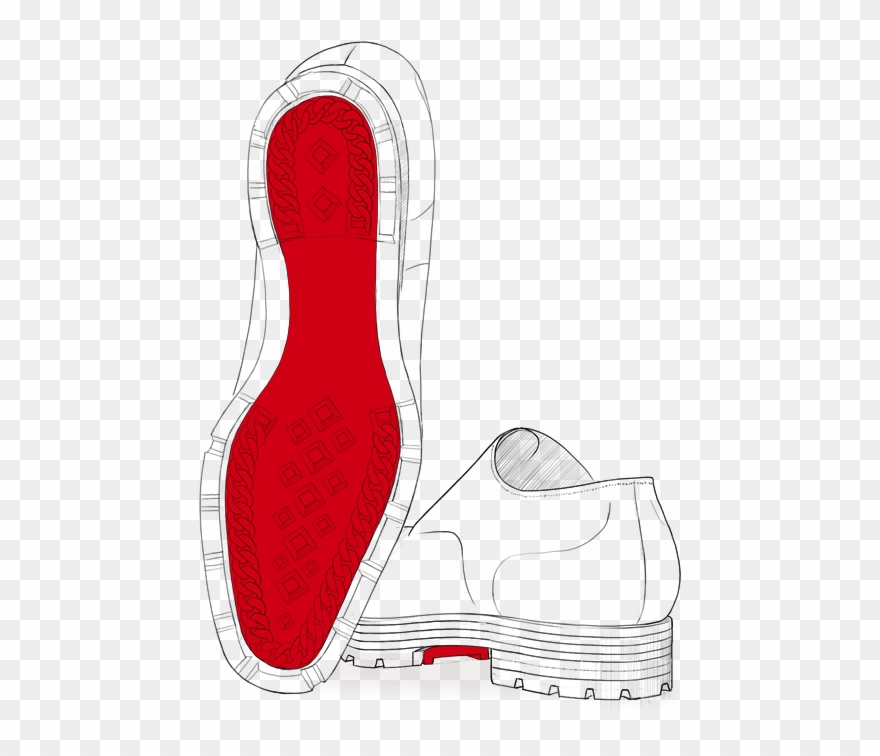 cc391b17a185 The Lug Sole - Christian Louboutin Graphic Clipart ( 1191367 ...