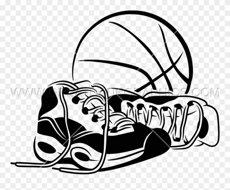 9bc71e14095d Basketball With Shoes Clipart ( 1191523) - PinClipart
