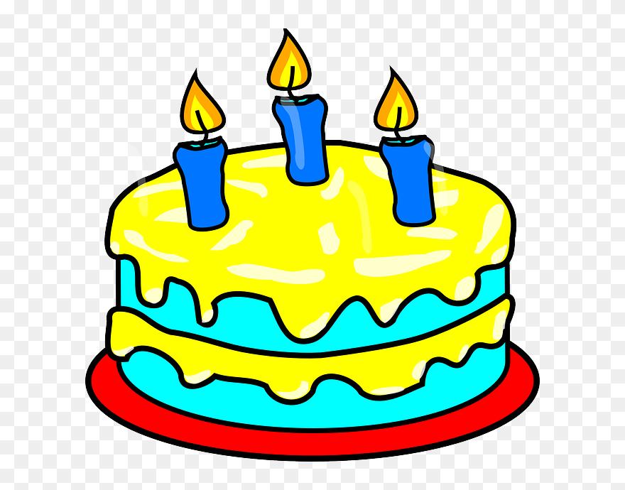 Amazing Birthday Cake 3 Candles Clipart 120300 Pinclipart Personalised Birthday Cards Akebfashionlily Jamesorg