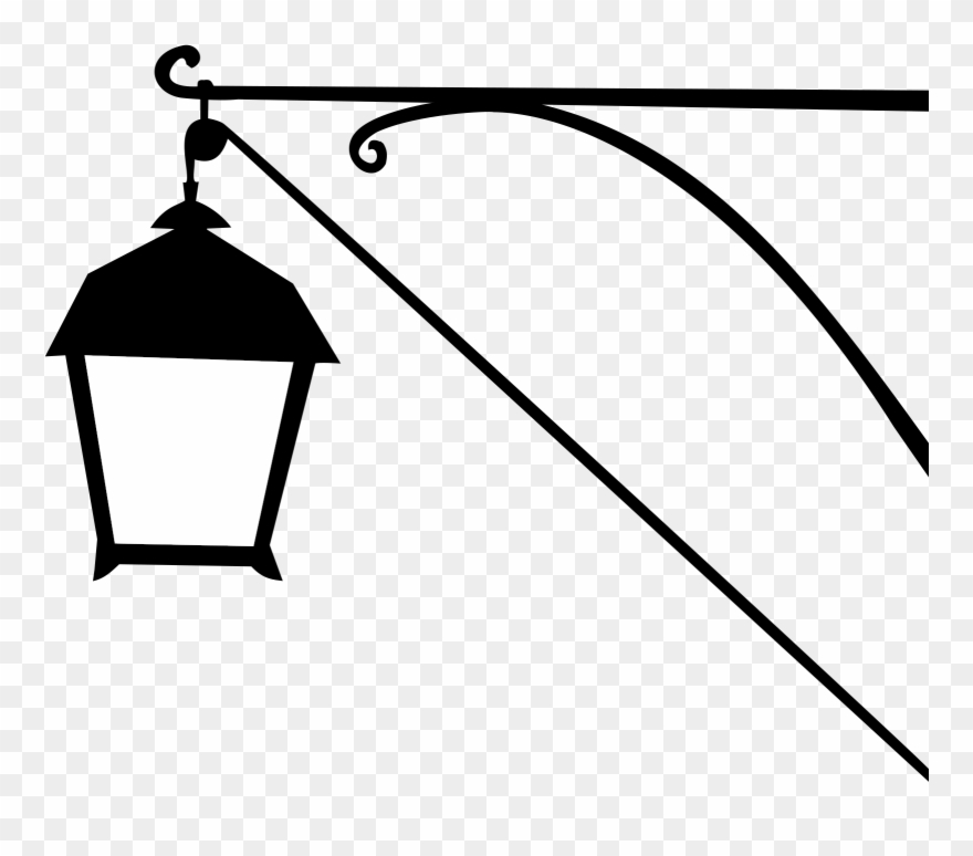 Street Lamp Silhouette Icons Png Silhouette Black Clip Art