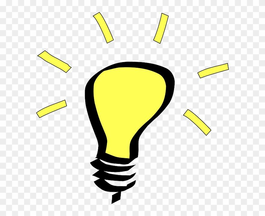 Light bulb bright idea. Cityscape ideas wfuv transparent