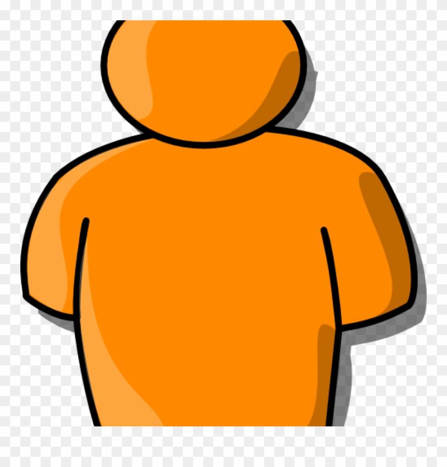 Person orange. Clipart clip art at