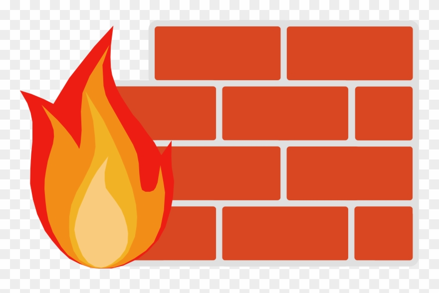 Firewall Wall Clipart Firewall Computer Security Clip ...