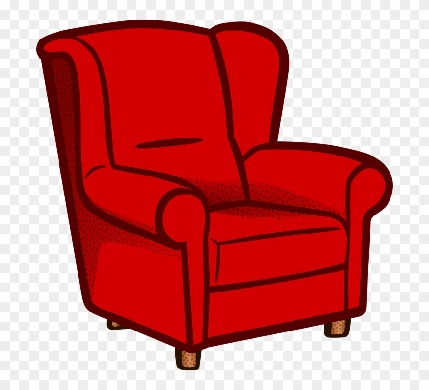 Sofa Clip Art Thecreativescientist Armchair Clipart Png Download