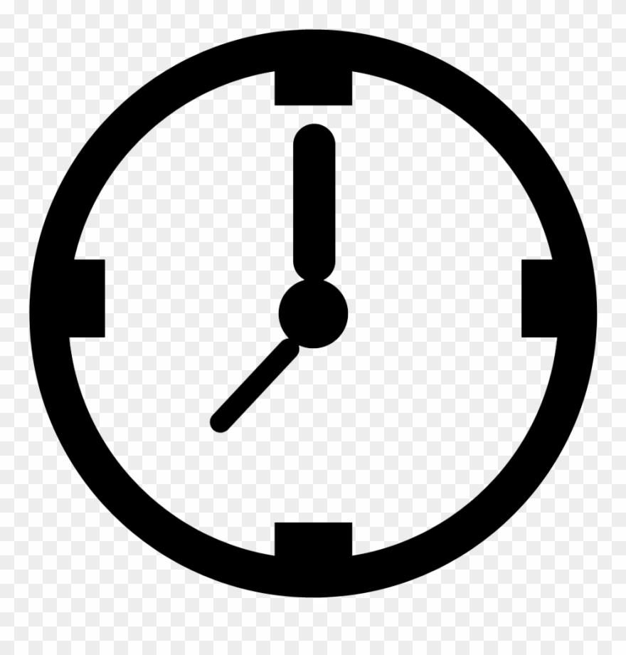 Clock transparent. Vector library clipart png