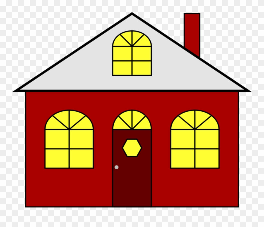 House With Christmas Lights Clipart.Download House Presentation Building Library House With
