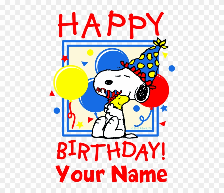 Favorite Snoopy Happy Birthday Meme Clipart 1200427 Pinclipart