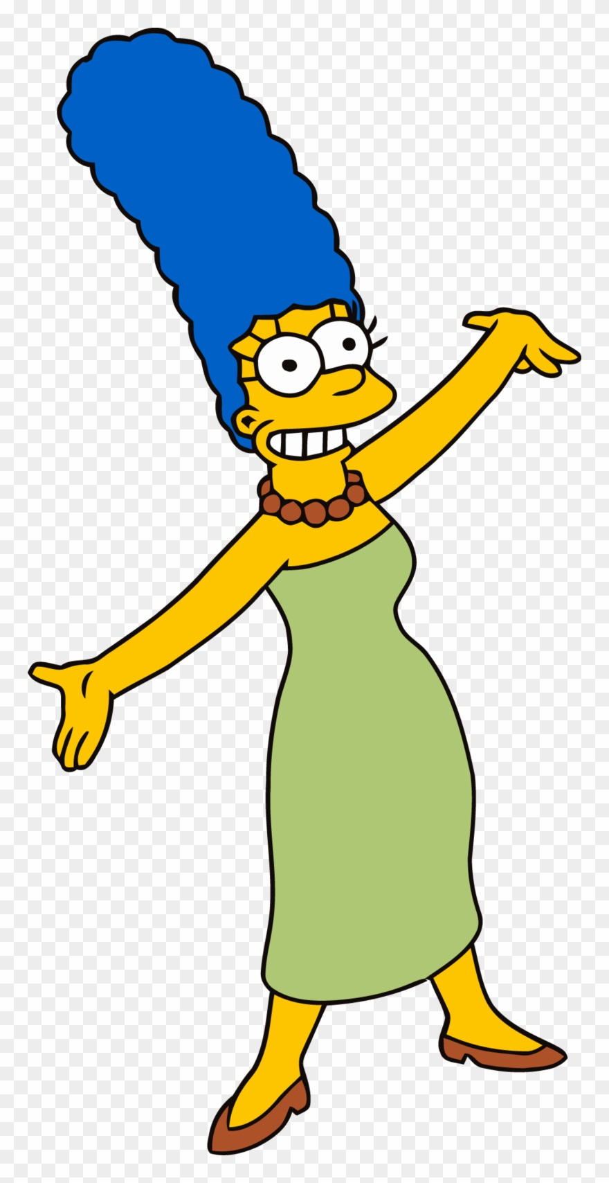 Download Marge Simpson Standing Clipart Marge Simpson