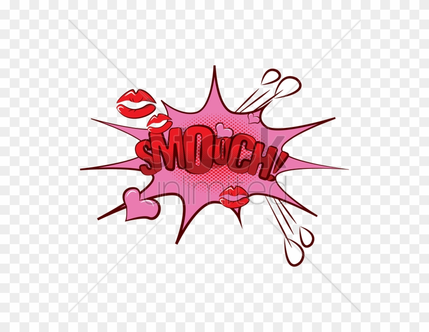 Kiss smooch. Free download comic png
