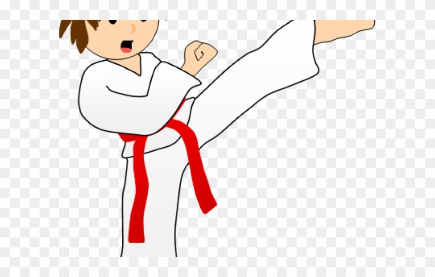 Mixed Martial Arts Clipart Taekwondo Sparring Kick Clipart Png Transparent Png 1215405 Pinclipart