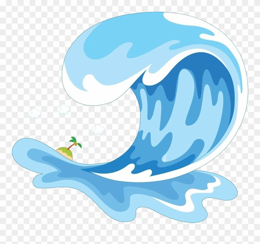 Cartoon Wave Png Sea Waves Png Cartoon Clipart 1220296 Pinclipart With these wave png images, you can directly use them in your design project without cutout. cartoon wave png sea waves png