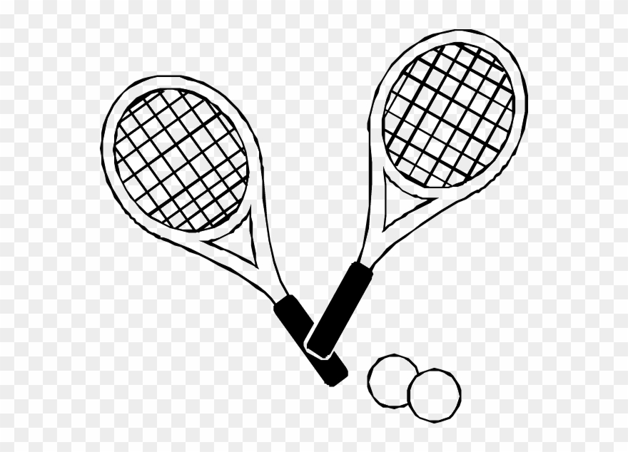 Tennis Drawing Images At Getdrawings Com
