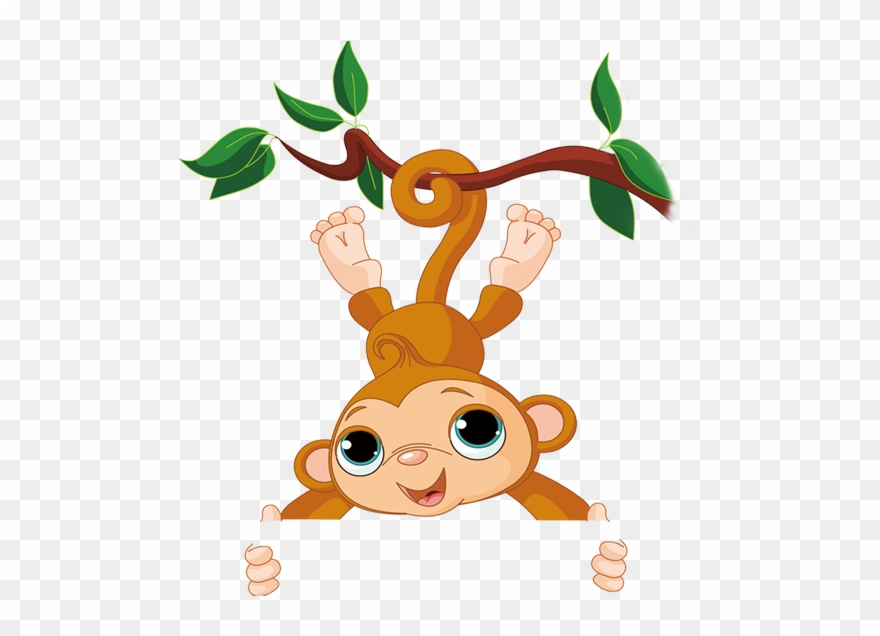 Cold Clipart Monkey Transparent Background Cute Monkey