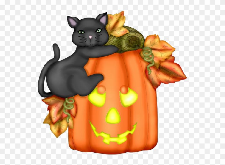 Download Orange Clipart Clip Art Autumn Cat Halloween ...