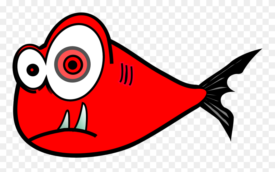 Fish red. Clipart buy clip art