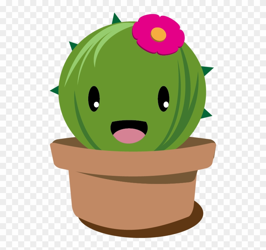 Stuck On You Cactus Sippy Cup Cactus Plant Cartoon Png Clipart 1227434 Pinclipart
