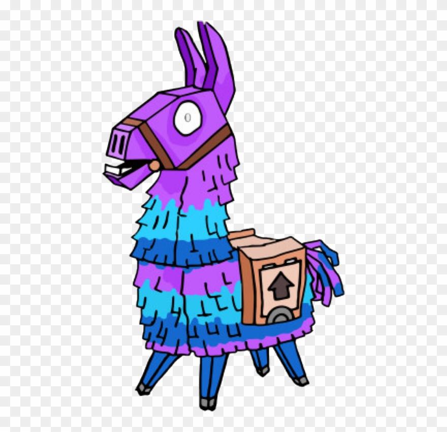 Dibujos De Fortnite De La Llama Clipart 1228472 Pinclipart