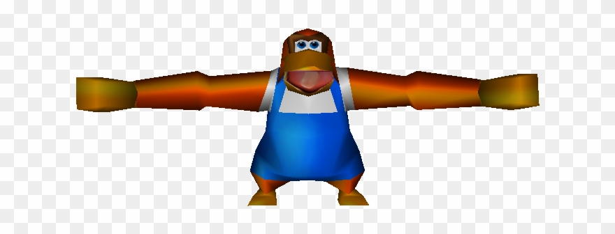 Download Zip Archive Lanky Kong T Pose Clipart Full Size Clipart 1228480 Pinclipart