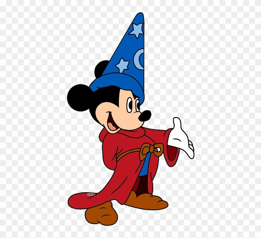 2a4e79523bb74c Disney Fantasia Clipart Mickey Mouse Fantasia Sorcerer's - Mickey ...