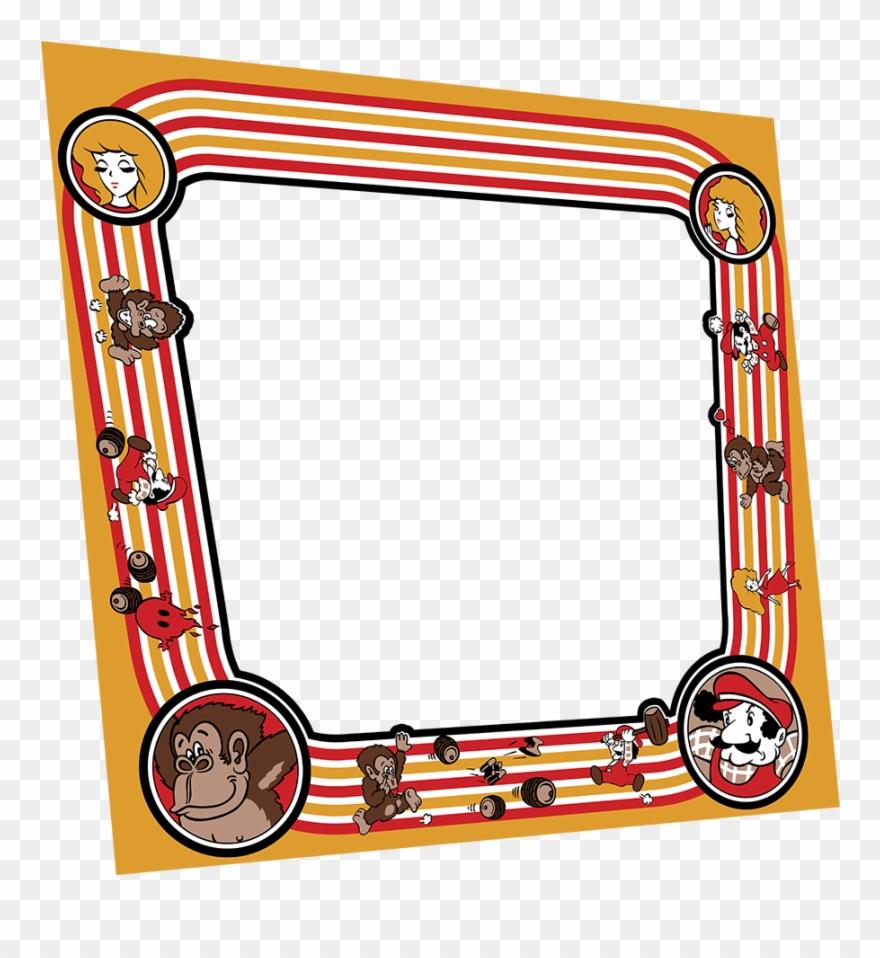 Donkey Kong Bezel - Tin Sign Donkey Kong Arcade A329 Clipart