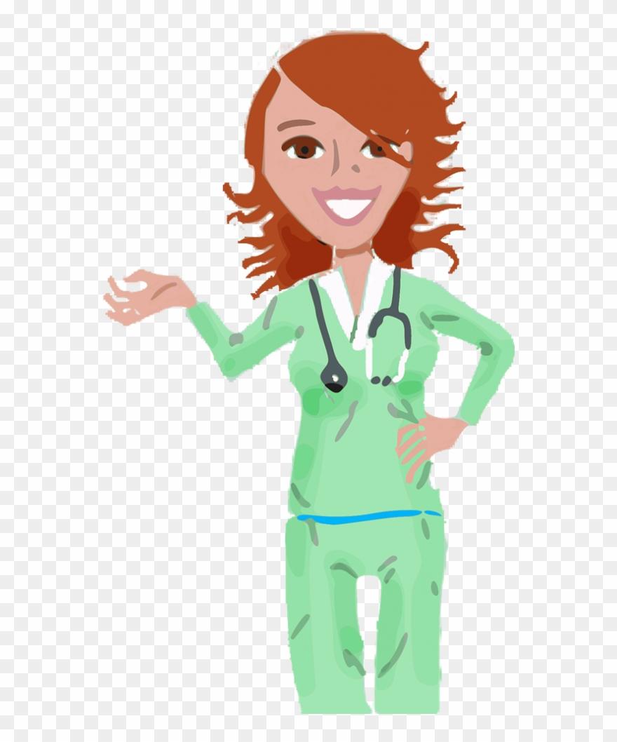 Nursing Clip Art Free Medical Assistants In Cartoon Png Download