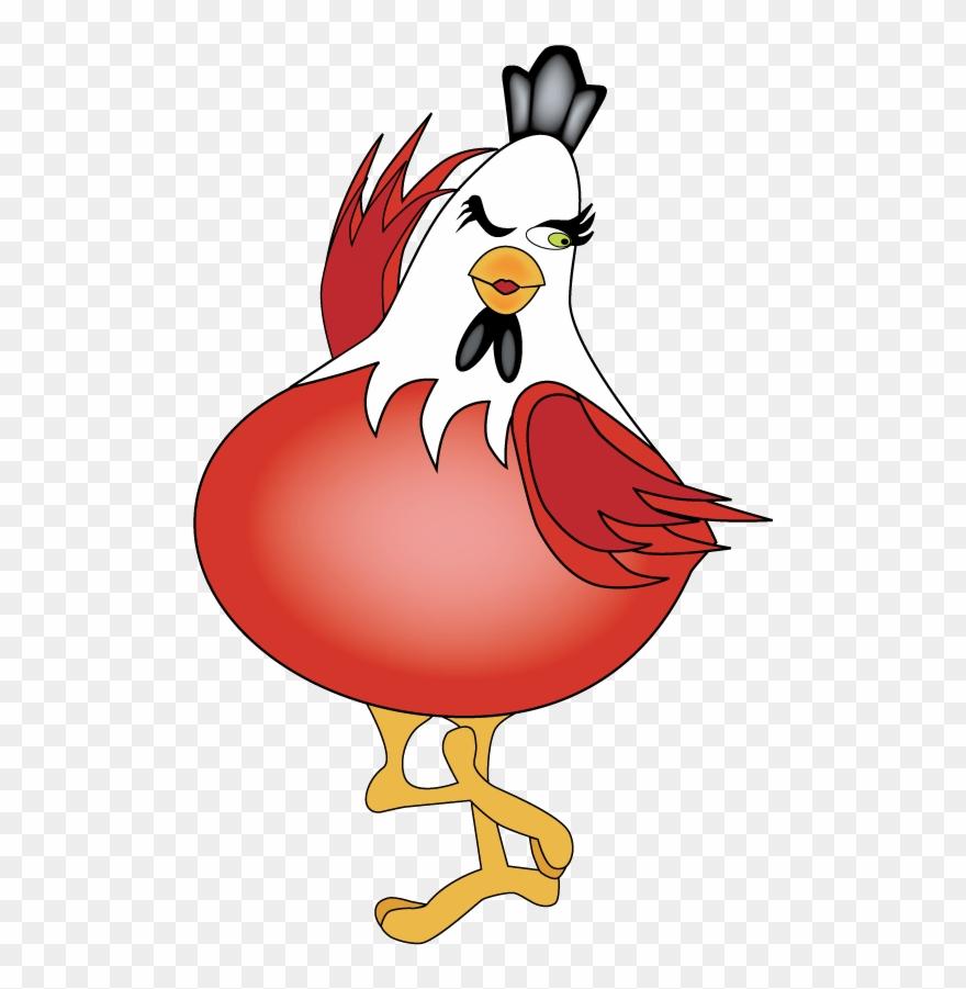 Прикольная картинка курица, для