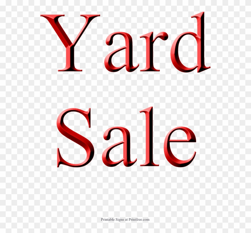 image relating to Printable Garage Sale Signs known as Back garden Sale Indicator, Pink - Printable Blank Sale Symptoms Clipart