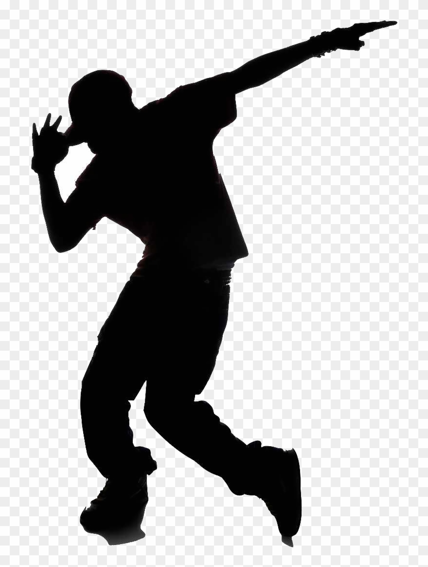 Dancer Clipart Transparent Background Hip Hop Dance Silhouette Png Download 1230098 Pinclipart