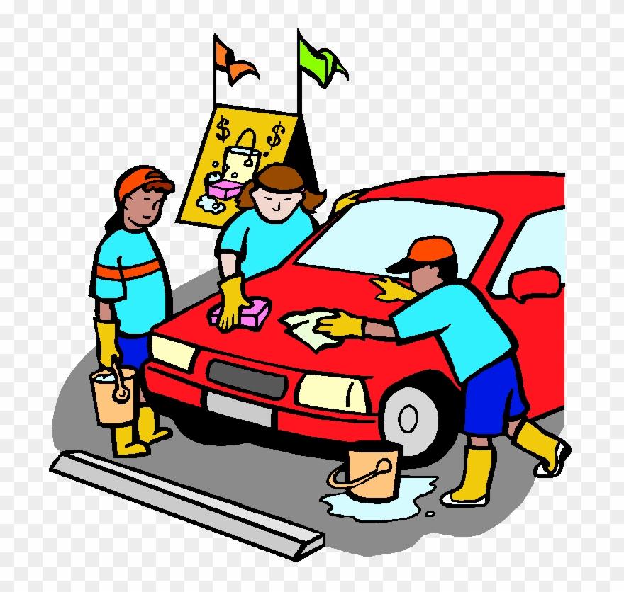 Boy Clipart Washing Car Car Wash School Fundraiser Clipart Png