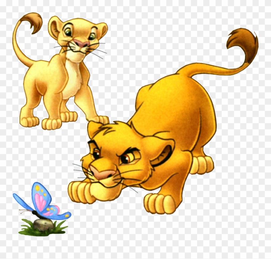 Анимашка картинка лев