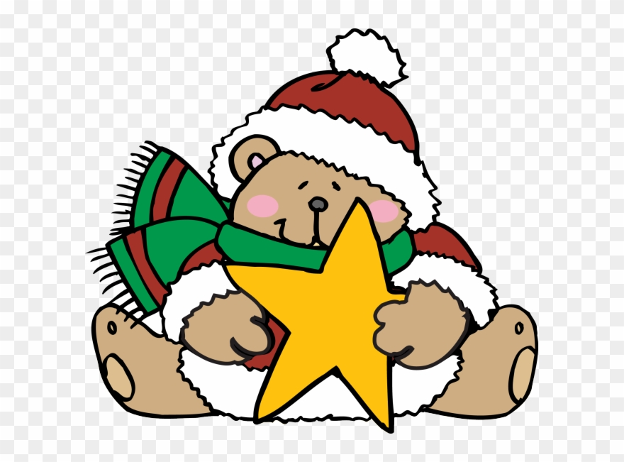 Free christmas cute. Teddy bears dressed for