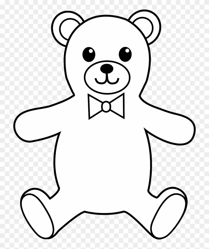 Teddy Bear Black And White Teddy Bear Black And White Teddy Bear