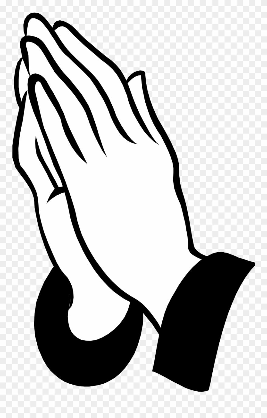 Pray Clipart Prayer Request - Praying Hands Pillow Case