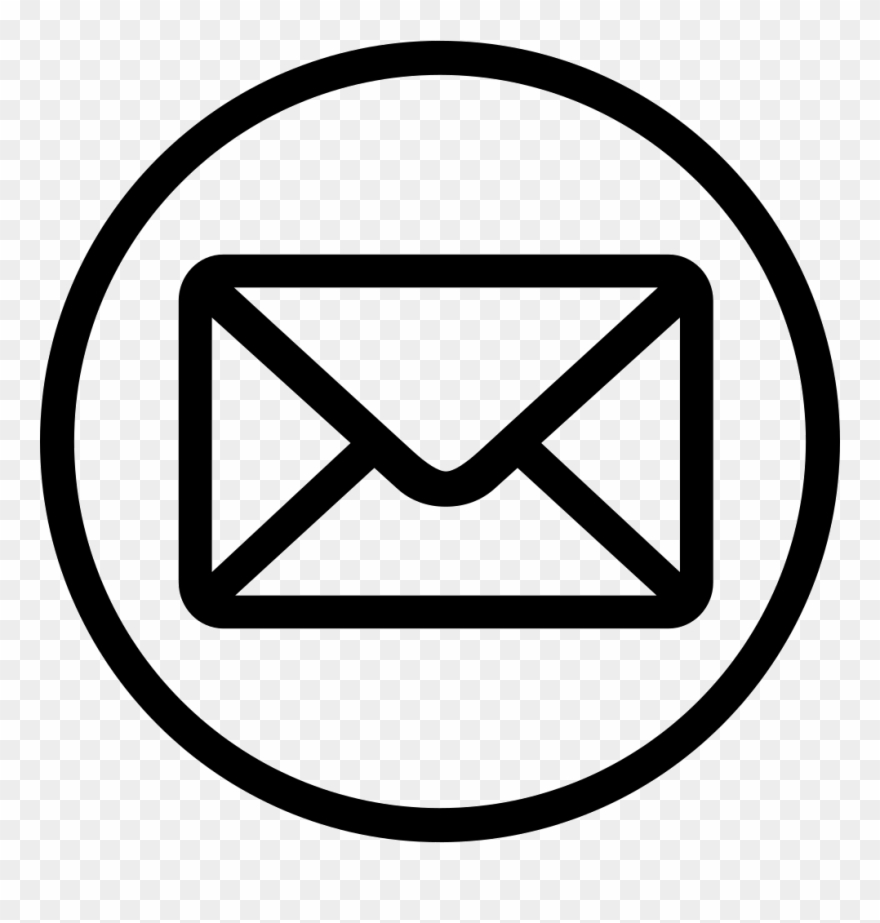 Envelope, Message, Send, Mail, Packet, Letter, Email - Email Icon Transparent Background Clipart