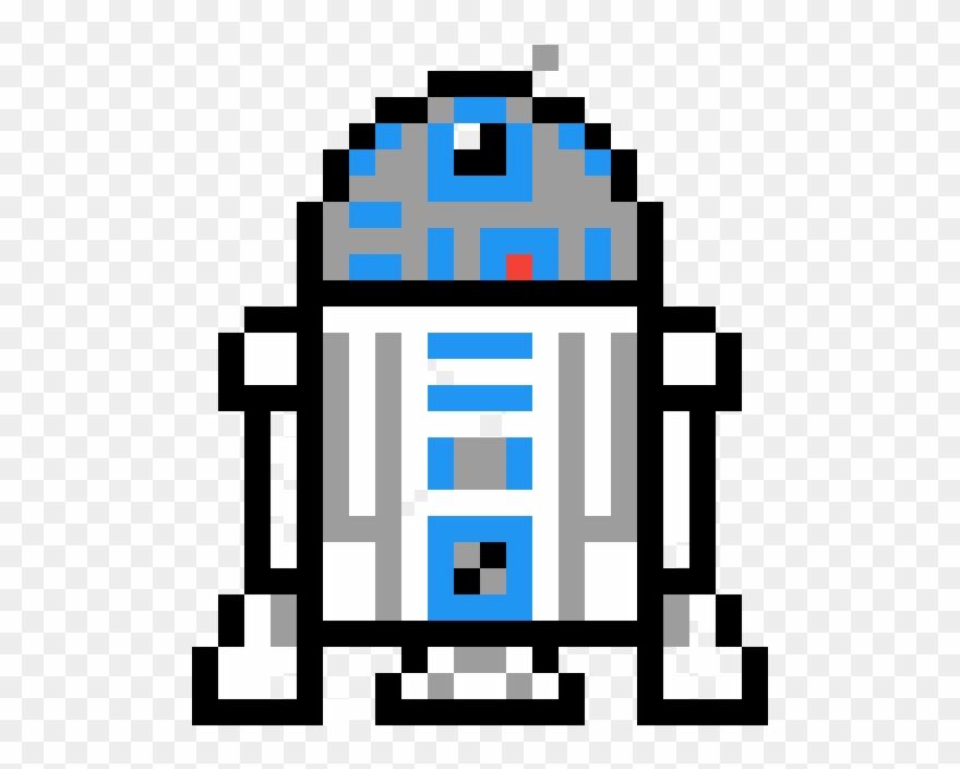 Star Wars Project Pixel Art Star Wars R2d2 Clipart