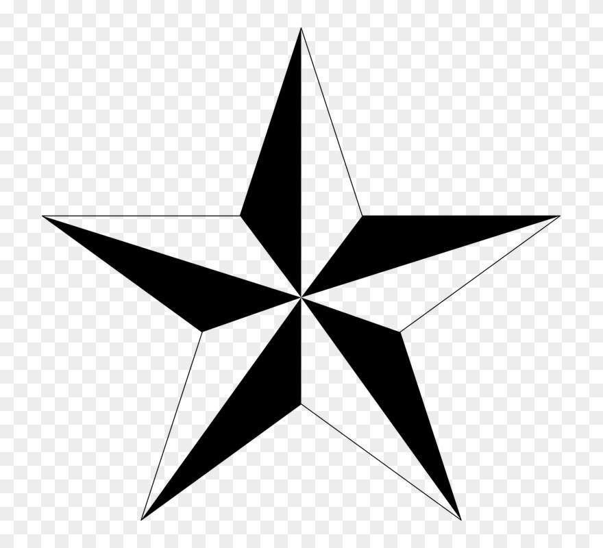 Black Stars Clipart 27, Buy Clip Art - Tattoo Stars - Png Download ...