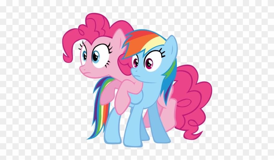 4b68bcc642 Pinkie Pie And Dash - Pinkie Pie I Rainbow Dash Clipart ( 1241075 ...